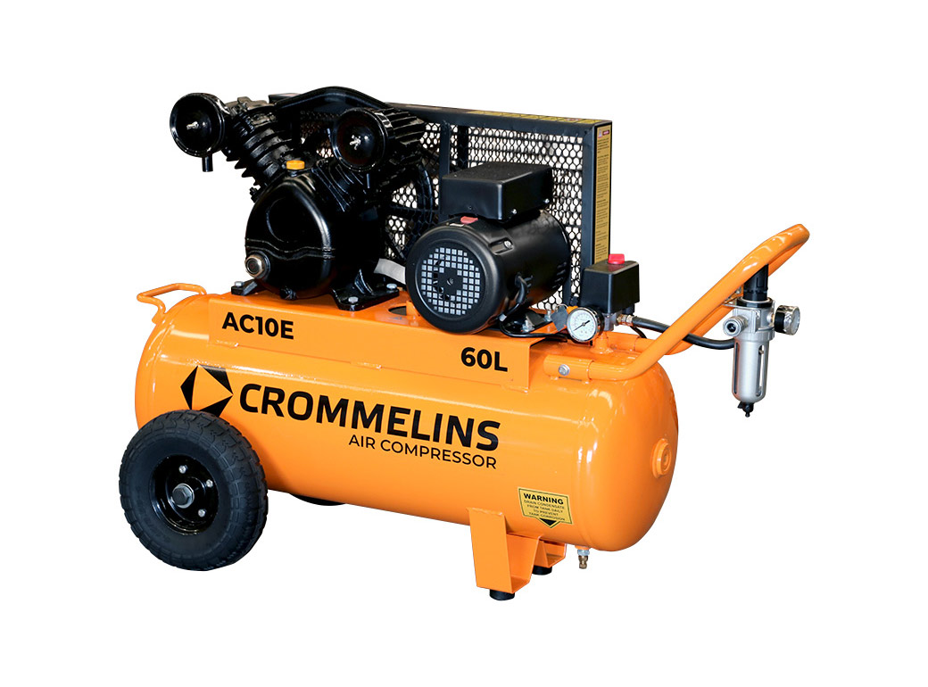 Crommelins Portable Piston Air Compressors Electric