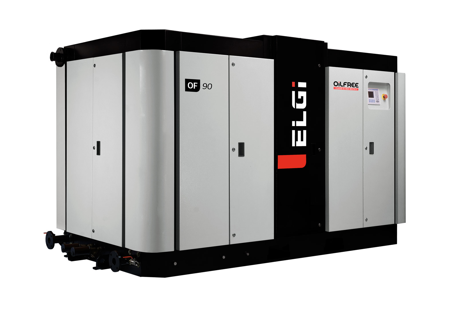 ELGi Oil-Free Screw Air-Cooled Air Compressors side