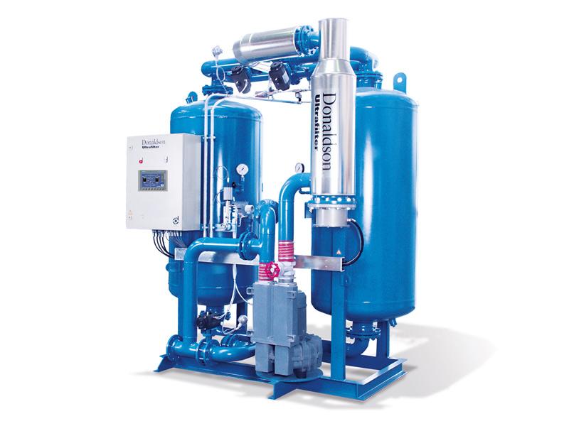 Donaldson Heat Regenerated Adsorption Dryers - Air Compressors