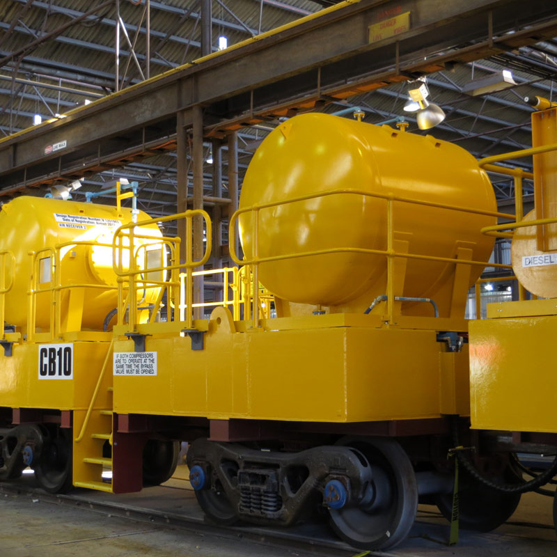 Rail Transport industries Air Compressor