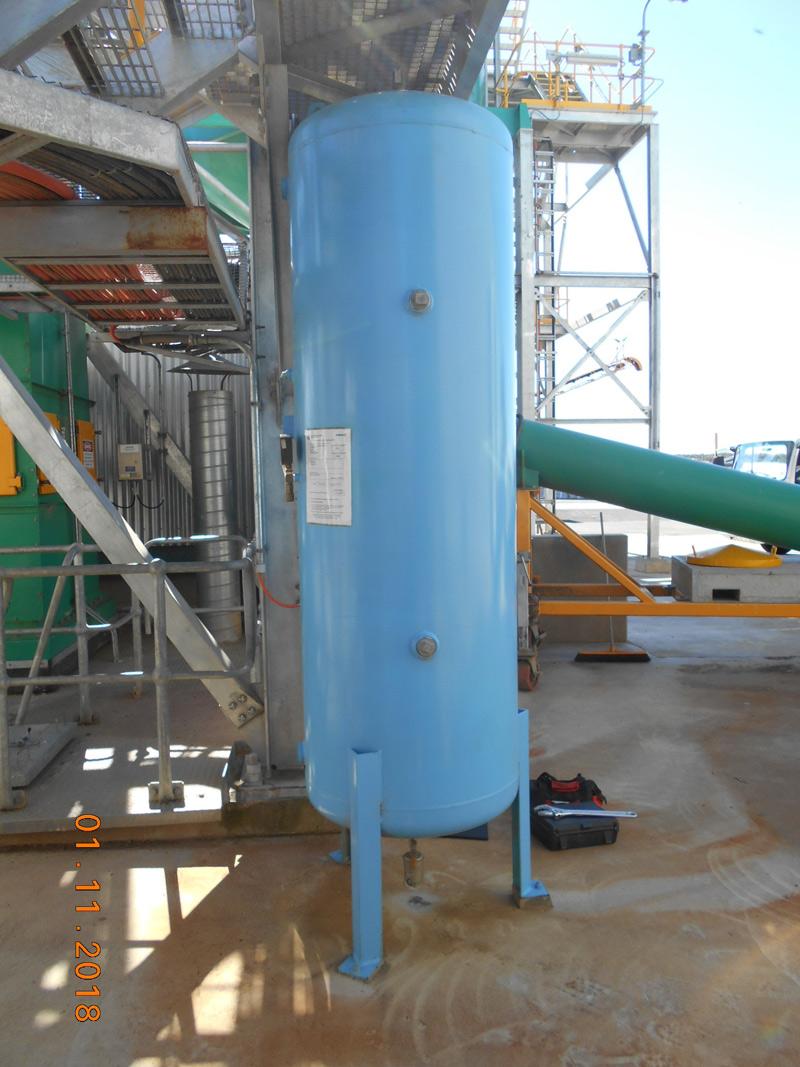 Air compressor vessel plant inspections